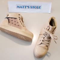 Cuci Gudang! Diskon 50% Sepatu Boots Anak Mollyca ( Rc - 501-1) cream