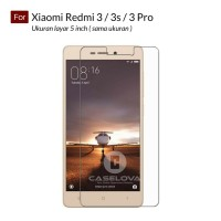 Tempered Glass Screen Protector Xiaomi Redmi 3 / 3s / 3 Pro - Clear
