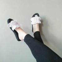 Sandal selop sandal kokop sandal flat teplek sandal murah wanita kerut