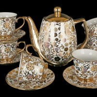 Vicenza Tea Set Motif Terbaru Lolly Poppy~CR-T70 LP Diskon