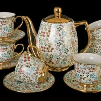 Tea Set Vicenza Super Mewah Motif Terbaru Lolly Poppy C Murah