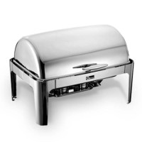Oxone Rectangle Roll-Top Chafer Ox-717 OB/Pemanas Perse Berkualitas