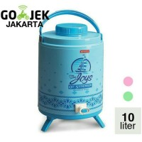 Lion Star Drink Jar Hot Milano Kapasitas 10 Liter Diskon