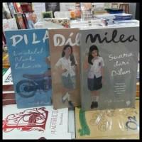 Promo Super ! 3 Paket Novel Terlaris Dilan 1, Dilan 2, Milea