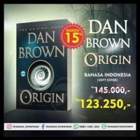 Murah ! Origin - Dan Brown Soft Cover Original Edisi Bahasa Indonesia