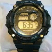 QnQ jam tangan pria dan wanita anti air - straap rubber