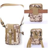 Tas Selempang Pria Wanita Unisex Import Tas HP Tactical Army Sling bag