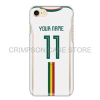 Senegal Soccer Jersey Piala Dunia Custom Phone Case