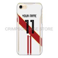 Peru Soccer Jersey Piala Dunia Custom Phone Case