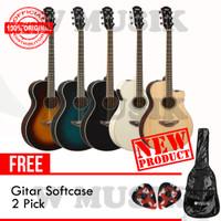 Yamaha Gitar APX 600 / APX600 - (Tersedia 5 Warna) + Softcase & 2 Pick