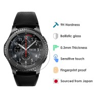 Tempered Glass Jam Tangan Smartwatch Samsung Gear S3 / Diameter 34mm