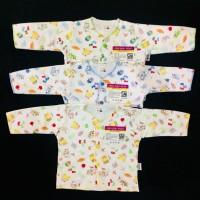 Baju Bayi LIBBY 3pcs baju Lengan Panjang ( 3-6 Bulan )