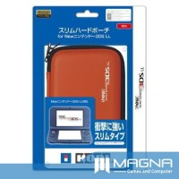 HORI New 3DS XL Hard Pouch - Red