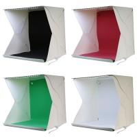 MINI photo studio box portable KOTAK LIPAT SIZE S 4 PCS Background