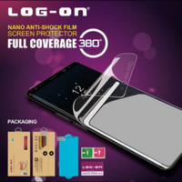 Log On Anti Shock Protector Anti Gores Samsung A50 Full Depan Belakang