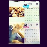 Kalender Dinding Gantung Free Design (KPOP,Anime,Gamer,Kartu)