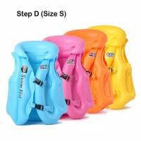 Rompi Pelampung Renang Anak step D Size S Swim Vest Ban Jaket