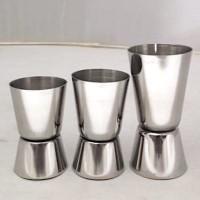 Gelas ukur kecil / Mesurer liquor stainless Zinger 20-30