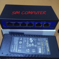 POE SWITCH 4 port + 2 port POE SWITCH 4 port Active POE
