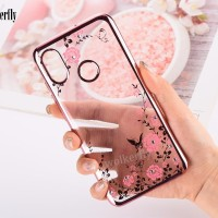 XIAOMI MI A2/ LITE/ REDMI 6A CASING SILICON FLOWER SOFT CASE COVER