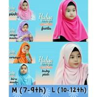 Size M/L Pastan Kaos Pashmina Instan Anak Muslimah Hijab Jilbab Cantik