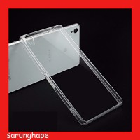 Clear Soft Case Casing Transparan Sony Xperia Z3