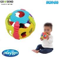 Playgro Shake Rattle and Roll Ball Mainan Bola Berbunyi Bayi