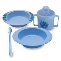 Lusty Bunny Feeding Set / Perlengkapan Makan Bayi LB1347