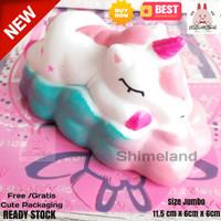 Squishy Murah Sleppy Unicorn Slow Jumbo Mainan Anak