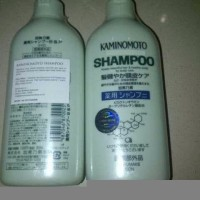 KAMINOMOTO MEDICATED SHAMPOO Solusi Meminimalkan Kerontokan Rambut