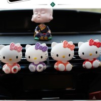 Parfum Pengharum Mobil Karakter Hello Kitty Imut