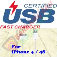 Fast Charging 30 Pin to USB Cable for iPhone 4/4s - MALANG