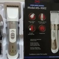 Alat Pangkas Rambut Elektrik Wireless Alat Cukur Cas Listrik MS-9002
