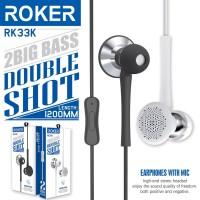 EARPHONE ROKER DOUBLE SHOT