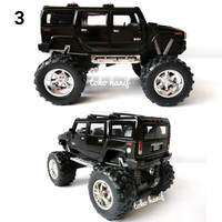 Diecast miniature Mobil hummer H2 SUV (Off Road)