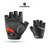 ROCKBROS S143 Bike Glove Half Finger Gel Pad - Sarung Tangan Sepeda
