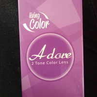 Living color adore black softlens