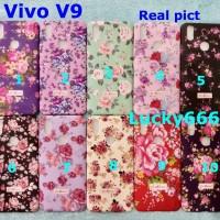 Soft case flower vivo v9 silikon bunga vivo v9 v 9