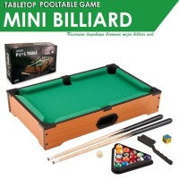 Mainan Mini Billiard Pool Table - Mainan Meja Biliar