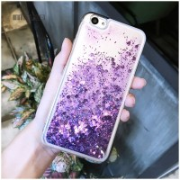 Glitter Water Case iphone 5/5s 6 6plus 7 8 Fashion Casing Glitter Love
