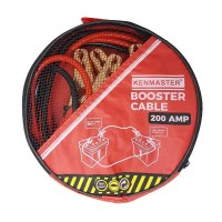 TERMURAH - KABEL JUMPER AKI MOBIL KENMASTER - BOOSTER CABLE 200 AMP