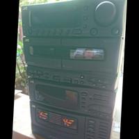 JVC Audio System Stereo Receiver model CA - C55BK