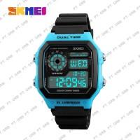 Jam Tangan Pria Digital SKMEI 1299 Blue Water Resistant 50M