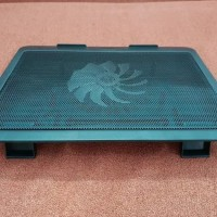 Cooling Pad Cooler Fan Kipas Pendingin Laptop Tatakan Max layar 15
