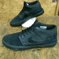 Sepatu nike sb portmore mid black original