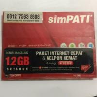 Nomer cantik super kartu perdana SimPATI 0812 7583 8888