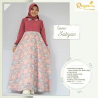 DISKON!!! Gamis Sabyan Rosewood by Riyani