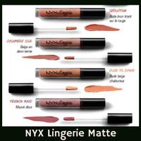 NYX Lip Lingerie Liquid Lipstick - NEW COLOR Lipstik Ombre