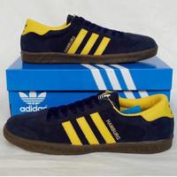 Adidas Hamburg Navy Yellow