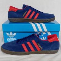 Adidas Hamburg Blue Red